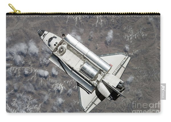 Aerial View Of Space Shuttle Discovery Carry-all Pouch