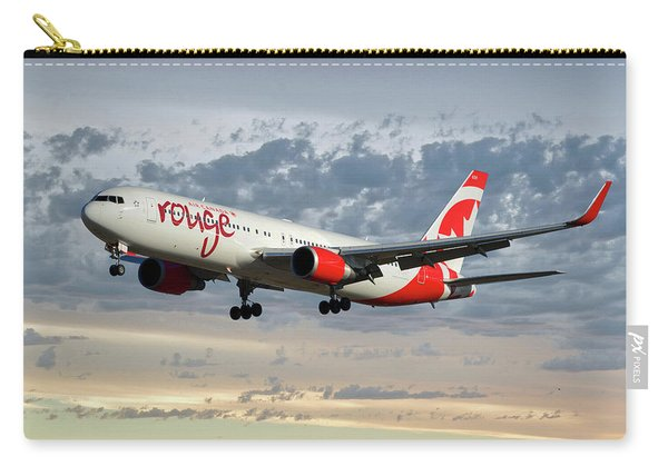 Air Canada Rouge Boeing 767-333 114 Carry-all Pouch