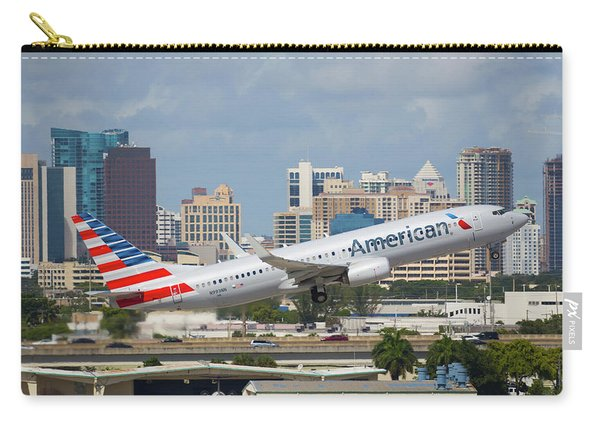 American Airlines Carry-all Pouch