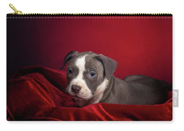 American Pitbull Puppy Carry-all Pouch