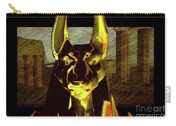 Anubis, God Of Egypt Carry-all Pouch
