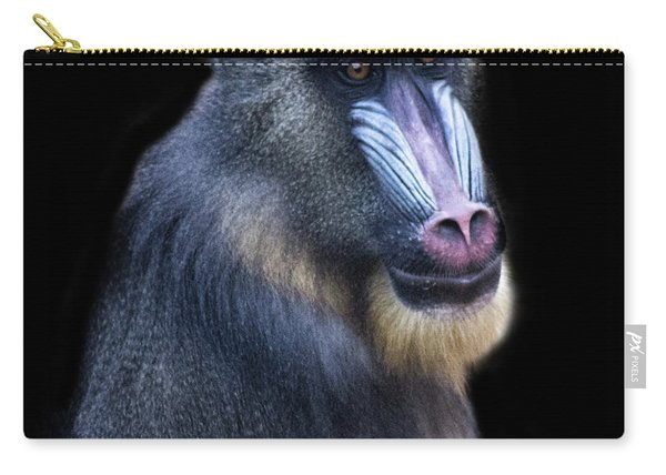 Baboon Portrait Carry-all Pouch
