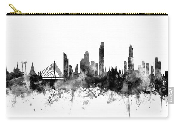 Bangkok Thailand Skyline Carry-all Pouch