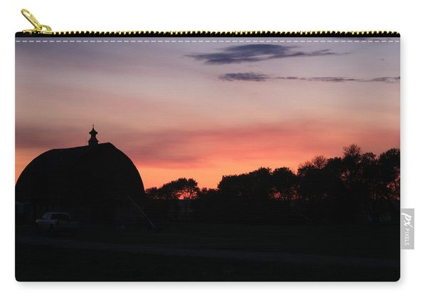 Barn Sunset Carry-all Pouch
