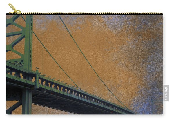 Ben Franklin Bridge Philadelphia Pa Carry-all Pouch