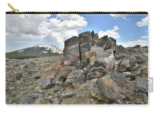 Big Horn Pass In Wyoming Carry-all Pouch