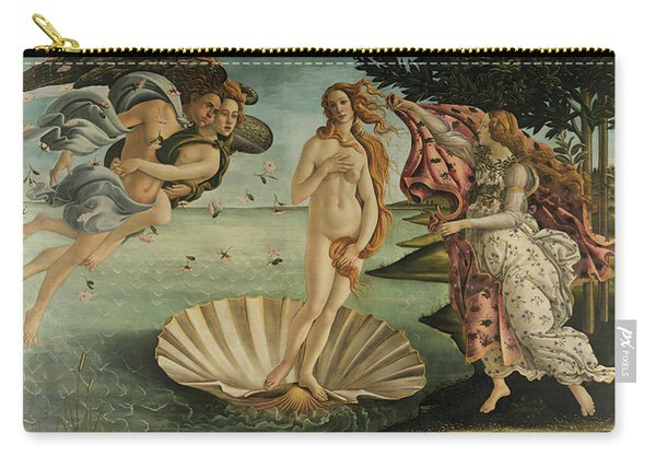 The Birth Of Venus, Detail Carry-all Pouch