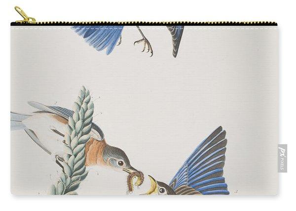 Blue-bird Carry-all Pouch