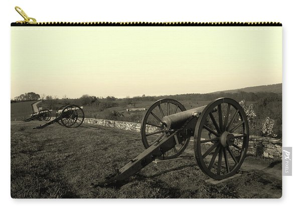 Cannon At Antietam Battleground  Carry-all Pouch