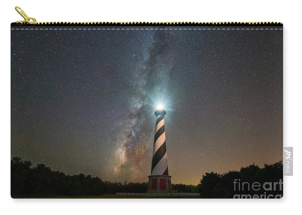 Cape Hatteras Lighthouse Milky Way Carry-all Pouch