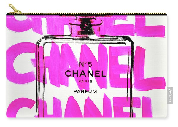 Chanel Chanel Chanel  Carry-all Pouch