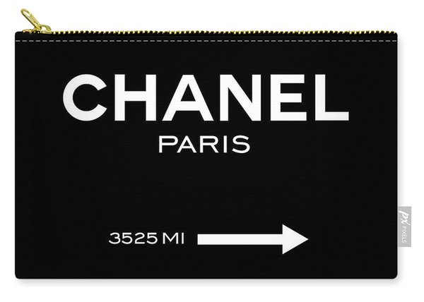 Chanel Paris Carry-all Pouch