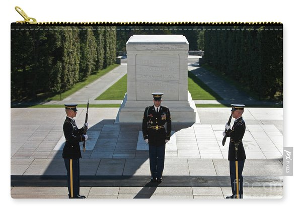 Changing Of Guard At Arlington National Carry-all Pouch