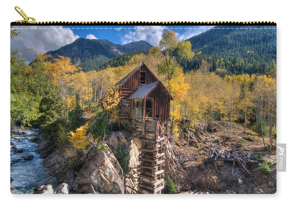 Crystal Mill Carry-all Pouch