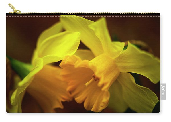 2 Daffodils Carry-all Pouch