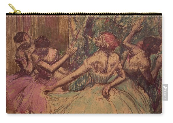 Dancers In The Wings Carry-all Pouch