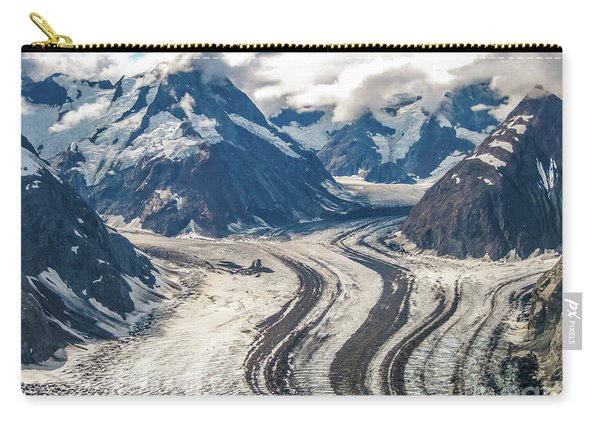 Carry-all Pouch featuring the photograph Denali National Park by Benny Marty