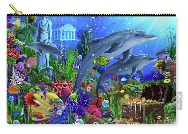 Dolphins Undersea Domain Carry-all Pouch