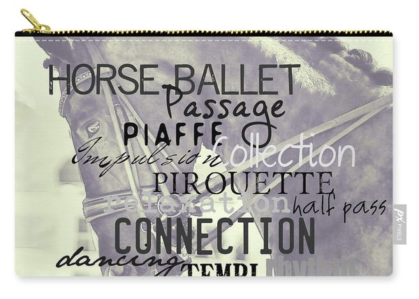 Double Bridle Quote Carry-all Pouch