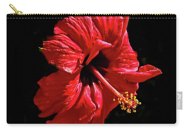 Floating Hibiscus Carry-all Pouch