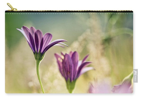 Flower On Summer Meadow Carry-all Pouch