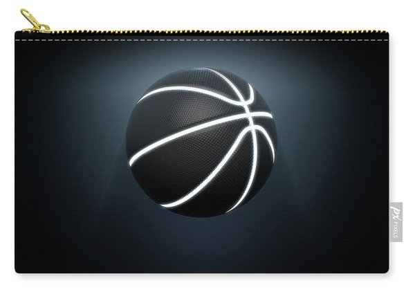 Futuristic Neon Sports Ball Carry-all Pouch
