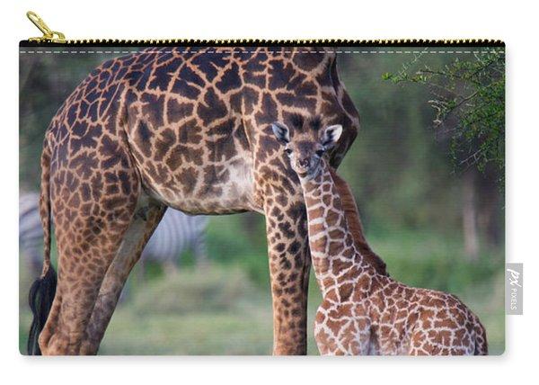 Giraffe Giraffa Camelopardalis Carry-all Pouch