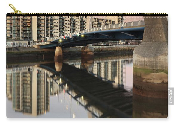 Glasgow Clyde Arc Bridge At Sunset Carry-all Pouch