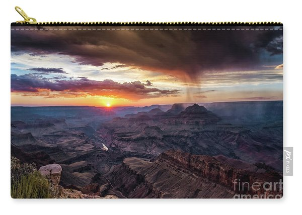 Grand Canyon Monsoon Sunset Carry-all Pouch