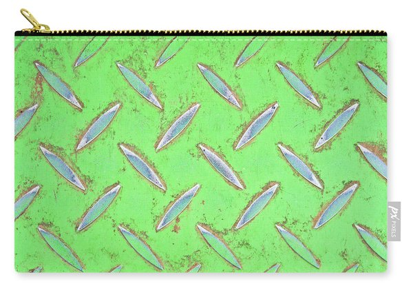 Green Metal Carry-all Pouch
