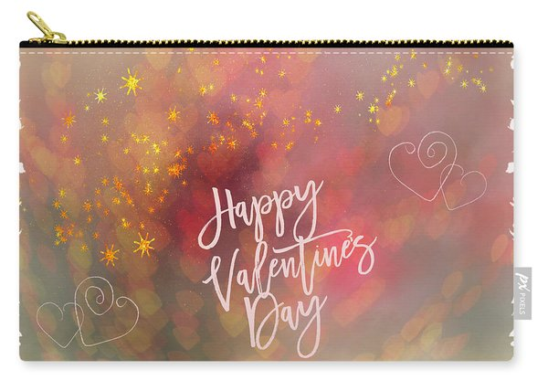 Happy Valentines Day  Carry-all Pouch
