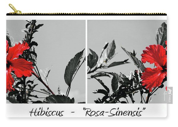 Hibiscus - Rosa Sinensis Carry-all Pouch