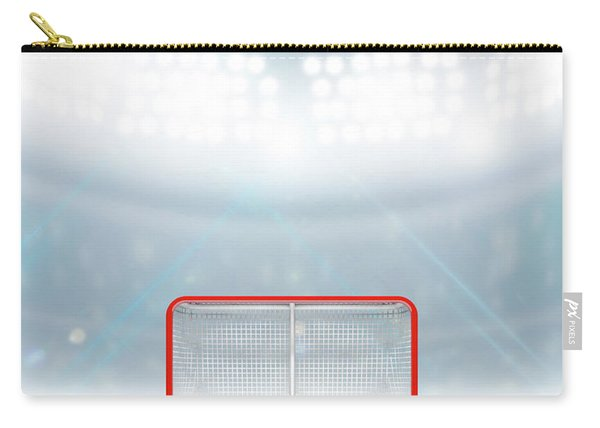 Ice Hockey Goals In Stadium Carry-all Pouch