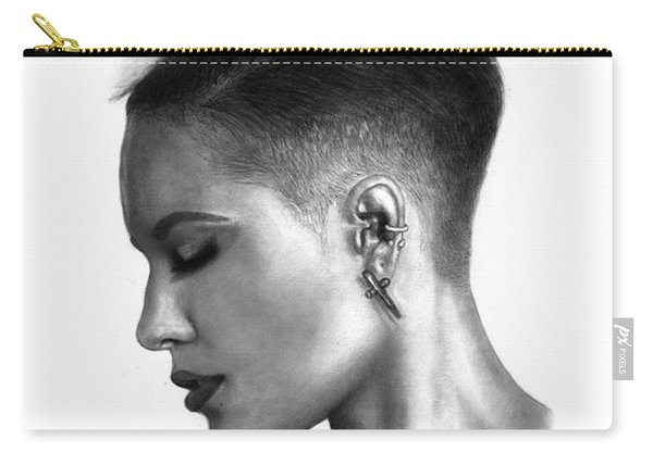 Halsey Drawing By Sofia Furniel Carry-all Pouch