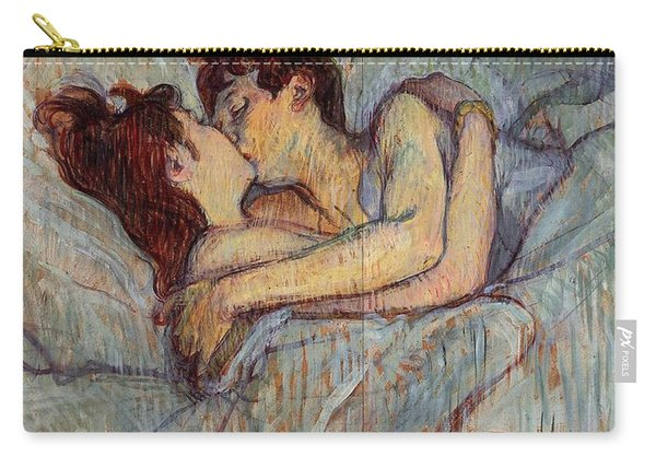 In Bed, The Kiss  Carry-all Pouch