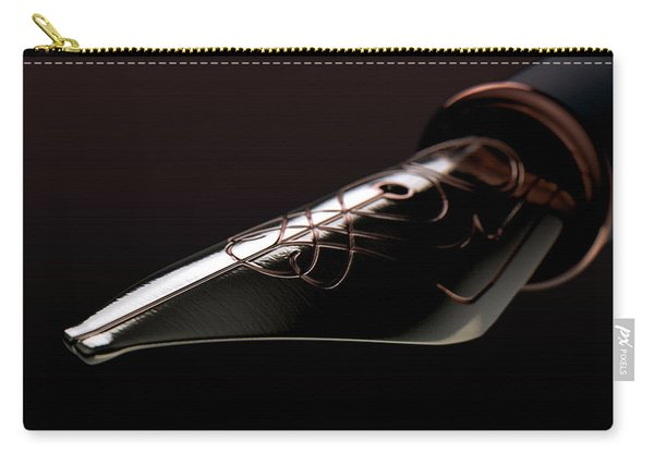 Intricate Fountain Pan Nib Carry-all Pouch