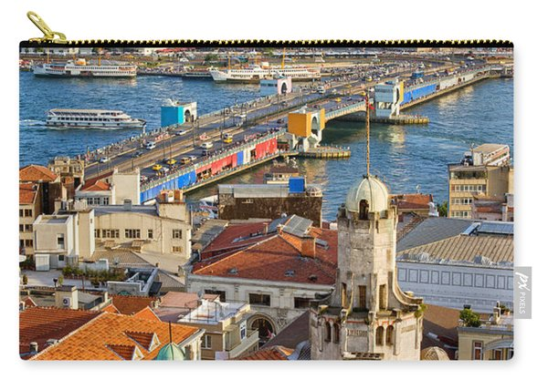 Istanbul Cityscape Carry-all Pouch