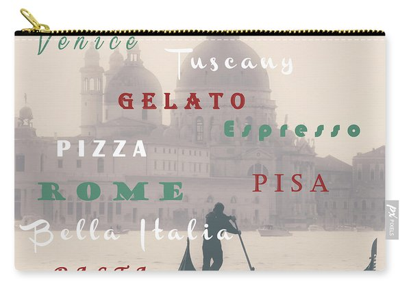 Italy Carry-all Pouch