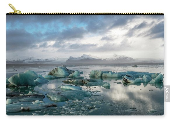 Jokulsarlon, The Glacier Lagoon, Iceland 3 Carry-all Pouch