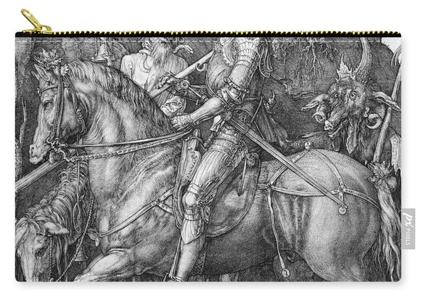 Knight Death And The Devil Carry-all Pouch
