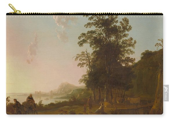 Landscape With The Flight Into Egypt Carry-all Pouch