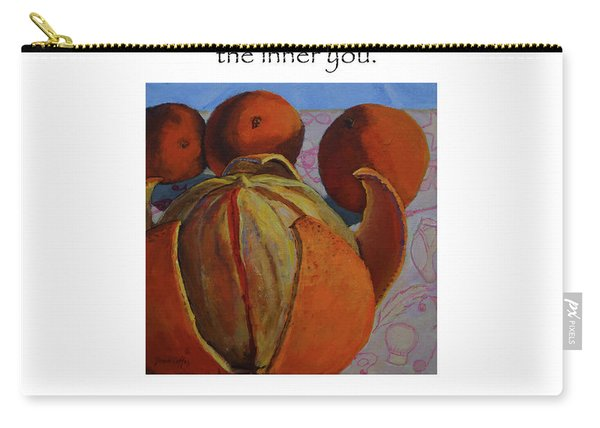 Let Others See The Inner You Title On Top Carry-all Pouch
