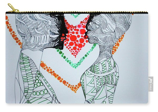 Love Is A Heart Carry-all Pouch