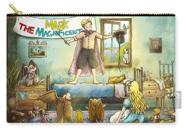 Mark The Magnificent Carry-all Pouch