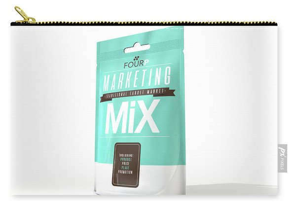 Marketing Mix 4 P's Carry-all Pouch