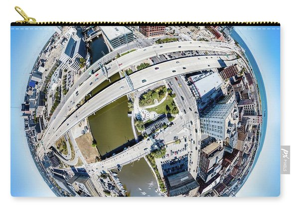 Milwaukee Riverwalk Carry-all Pouch