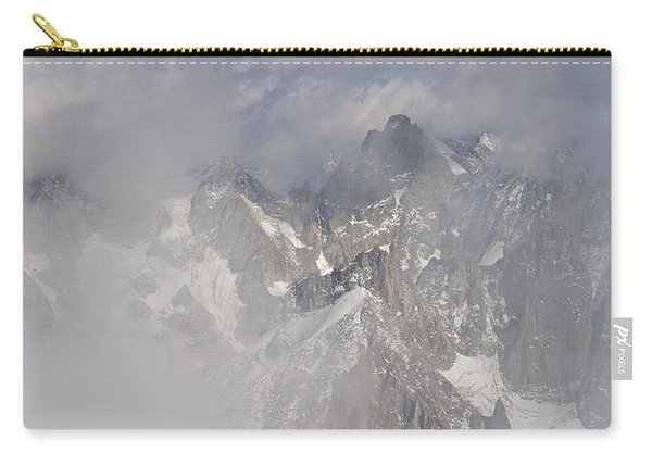 Mist At Aiguille Du Midi Carry-all Pouch