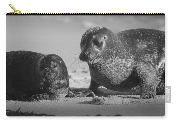 Mom And Pup  Carry-all Pouch