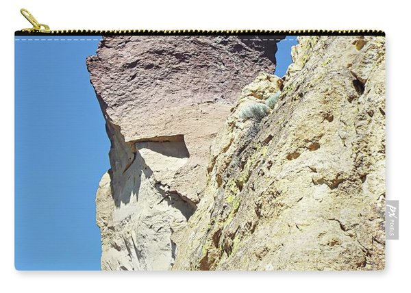 Monkey Face Rock - Smith Rock National Park Carry-all Pouch