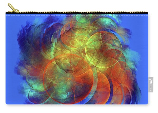 Multicolored Abstract Figures Carry-all Pouch